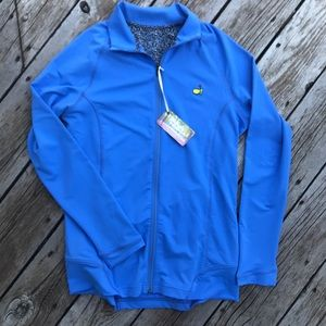 NWT Magnolia Lane Tech Blue Zip Jacket Medium